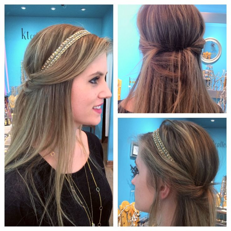 Best ideas about Hairstyles With Headbands For Long Hair . Save or Pin The 25 best Headband hairstyles ideas on Pinterest Now.