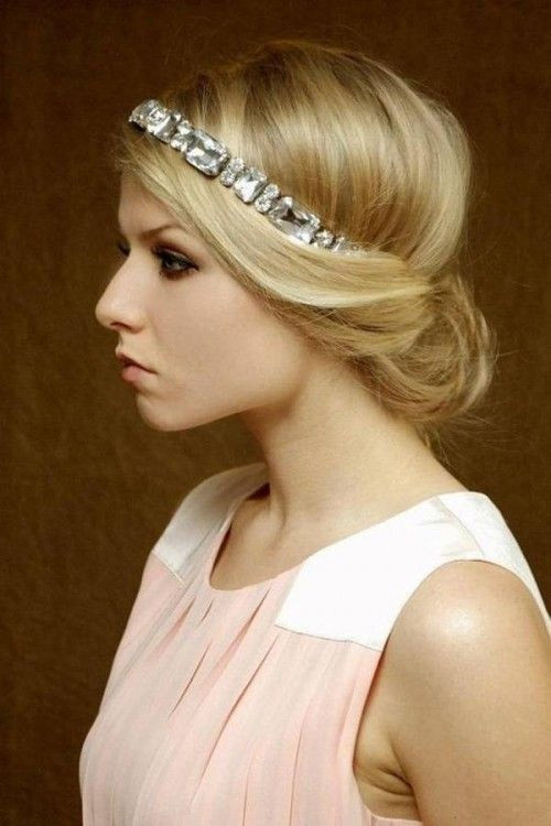 Best ideas about Hairstyles With Headbands For Long Hair . Save or Pin 16 Glamorous Bridesmaid Hairstyles for Long Hair Pretty Now.