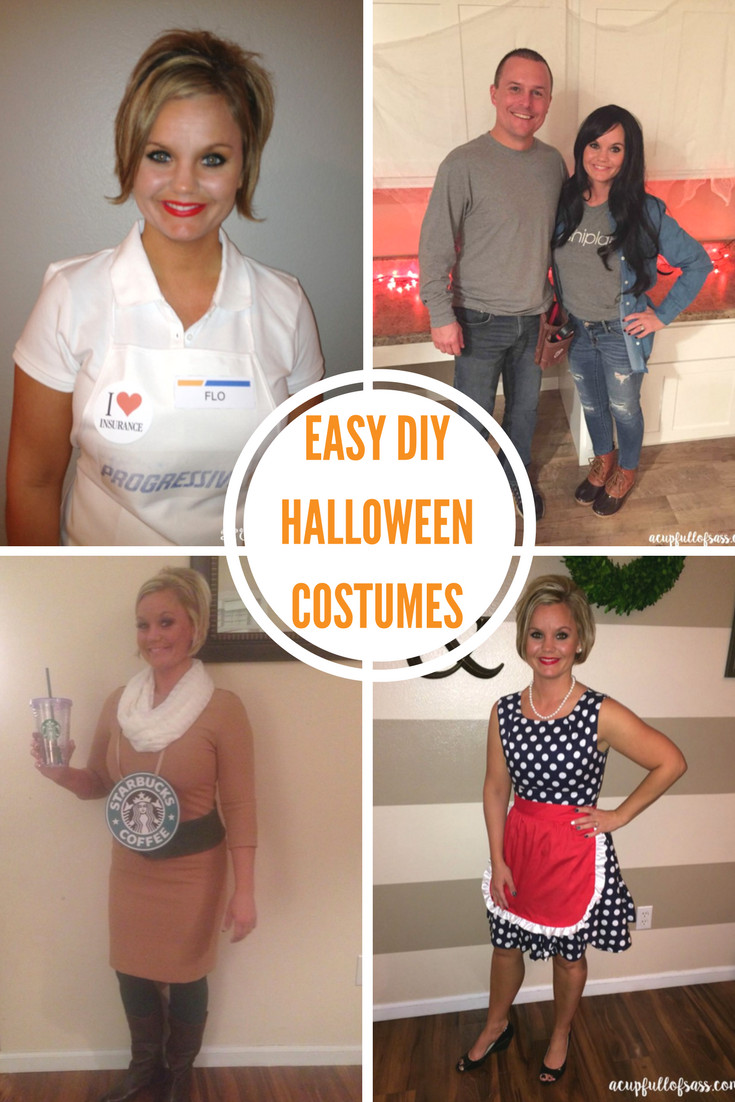 Best ideas about Halloween Costumes DIY . Save or Pin DIY Halloween Costume Ideas A Cup Full of Sass Now.