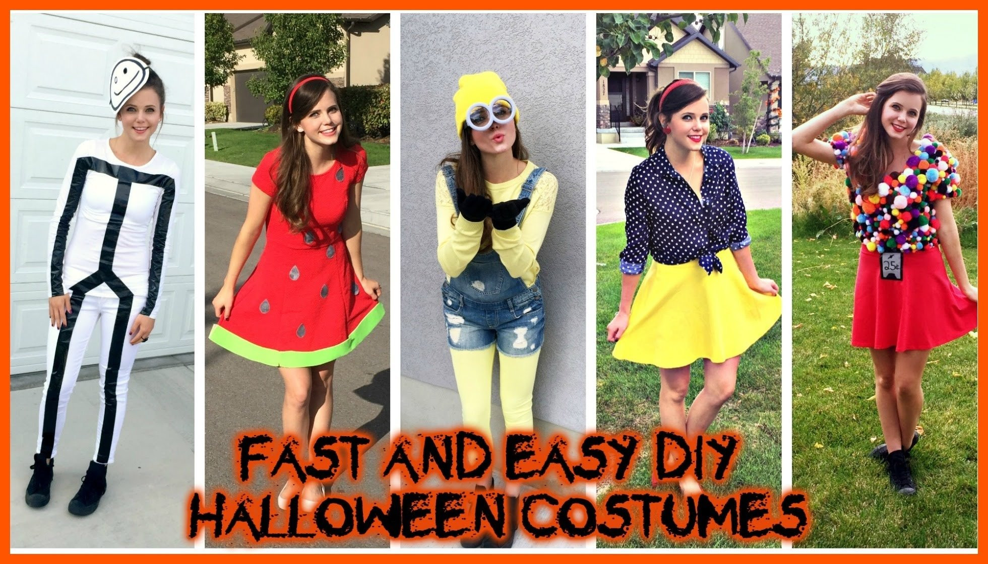Best ideas about Halloween Costumes DIY . Save or Pin 10 Attractive Last Minute Homemade Halloween Costume Ideas Now.