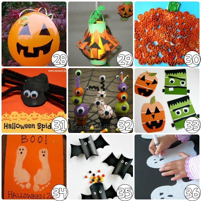 Best ideas about Halloween Craft Ideas For Kindergarteners . Save or Pin 75 Halloween Craft Ideas for Kids Now.
