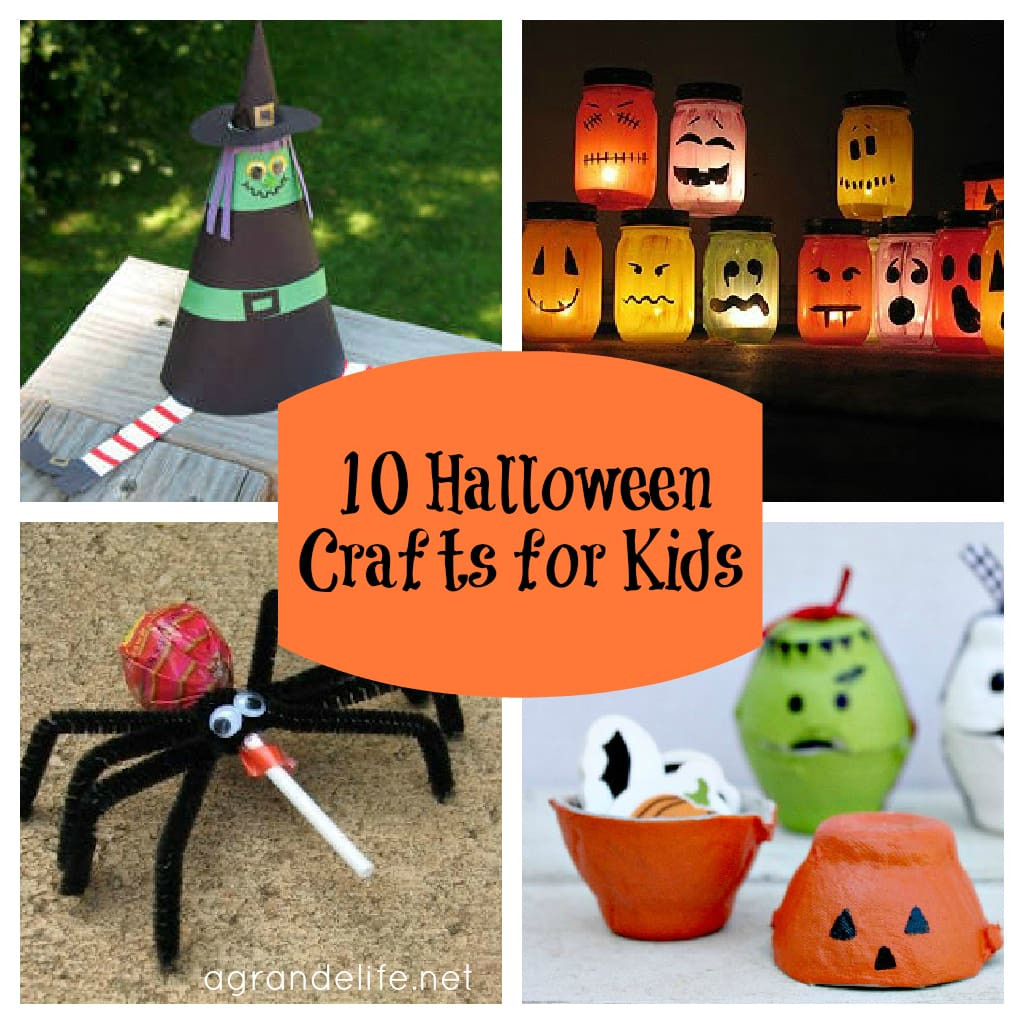 Best ideas about Halloween Craft Ideas For Kindergarteners . Save or Pin 10 Halloween Crafts for Kids Now.