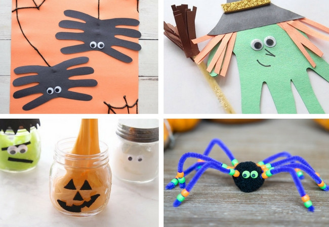 Best ideas about Halloween Craft Ideas For Kindergarteners . Save or Pin 100 Easy Craft Ideas for Kids The Best Ideas for Kids Now.