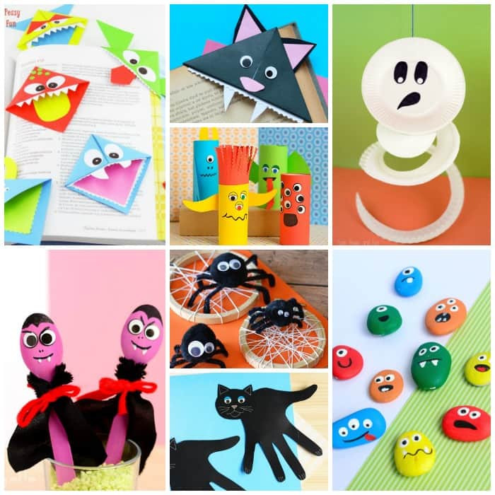 Best ideas about Halloween Craft Ideas For Kindergarteners . Save or Pin 25 Halloween Crafts for Kids Art and Craft Tutorials Now.