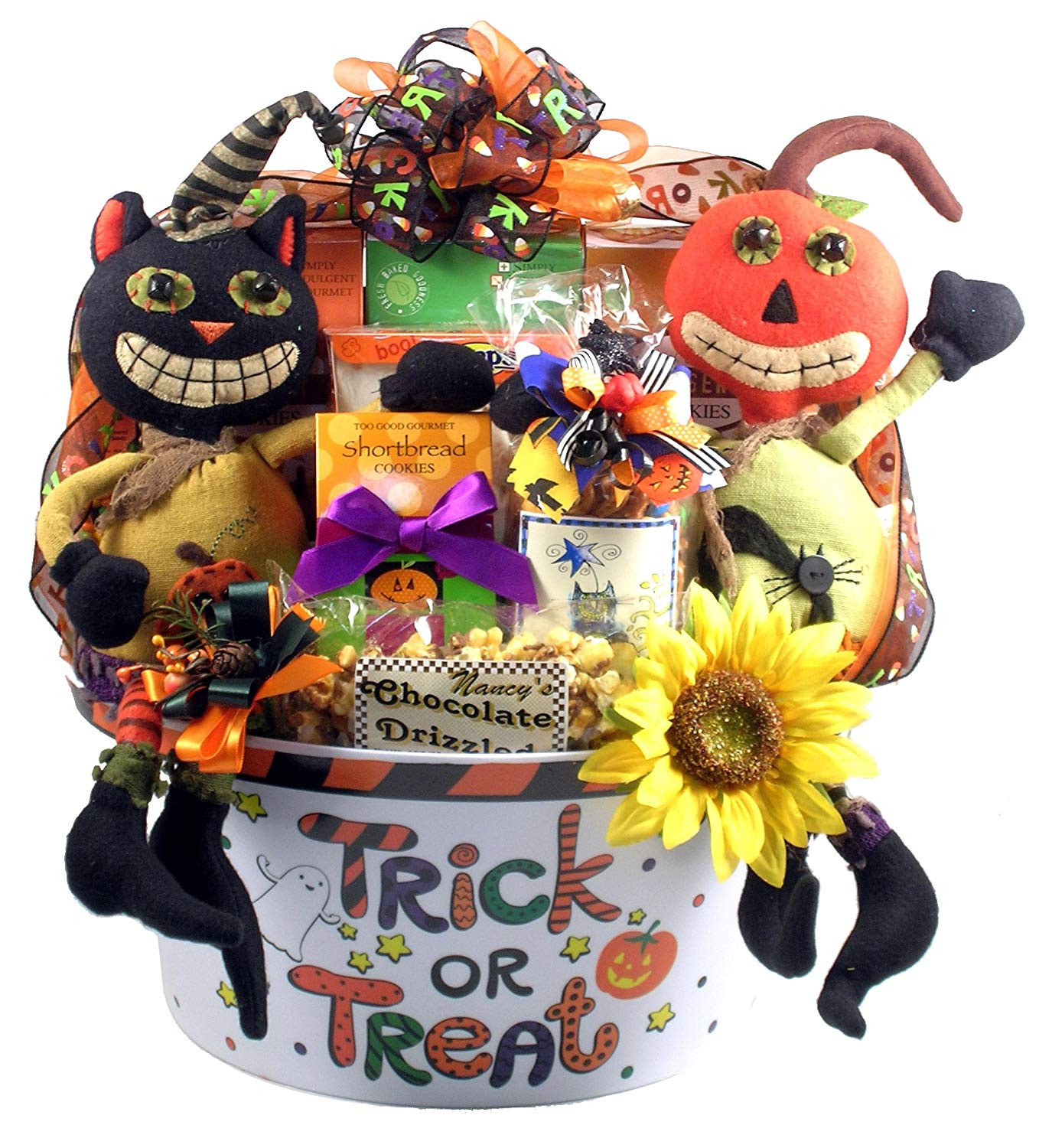Best ideas about Halloween Gift Basket Ideas For Adults . Save or Pin Best Halloween Gift Baskets for Adults and Kids Now.