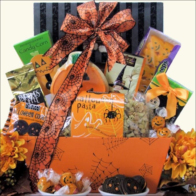 Best ideas about Halloween Gift Basket Ideas For Adults . Save or Pin 42 best Halloween Gift Baskets images on Pinterest Now.
