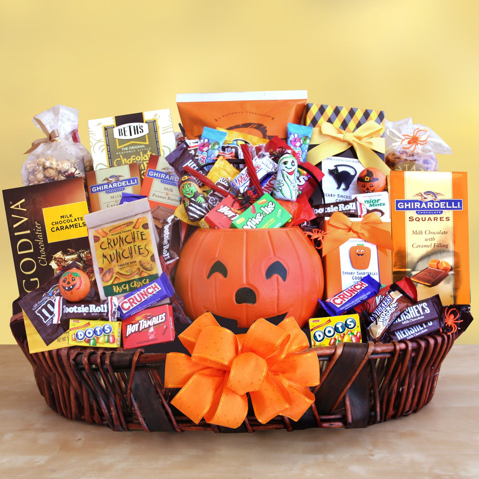 Best ideas about Halloween Gift Basket Ideas For Adults . Save or Pin Extravaganza Halloween Gift Basket Holiday Gift Baskets Now.