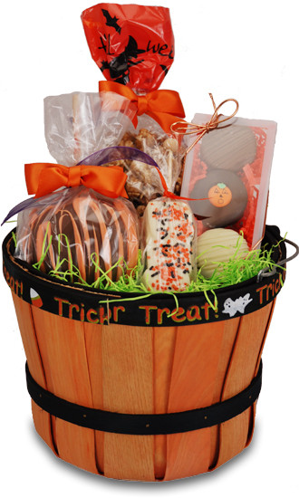 Best ideas about Halloween Gift Basket Ideas For Adults . Save or Pin Halloween Gift Basket Now.