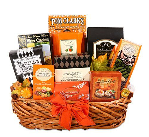 Best ideas about Halloween Gift Basket Ideas For Adults . Save or Pin Elegant Halloween Gourmet Halloween Gift Basket for Adults Now.