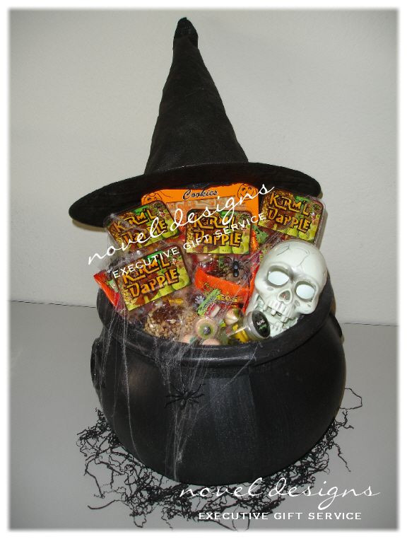 Best ideas about Halloween Gift Basket Ideas For Adults . Save or Pin Halloween Witches Brew Gift Basket LasVegas Halloween Now.