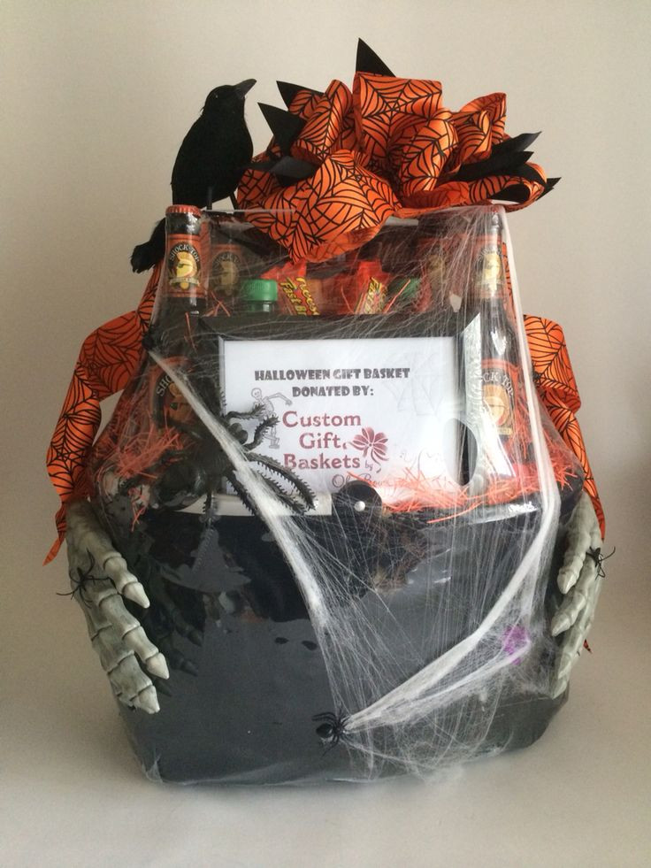 Best ideas about Halloween Gift Basket Ideas For Adults . Save or Pin 17 Best ideas about Halloween Gift Baskets on Pinterest Now.