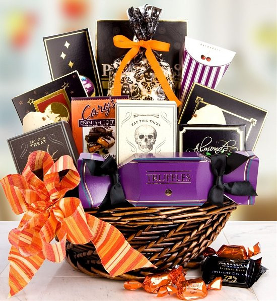 Best ideas about Halloween Gift Basket Ideas For Adults . Save or Pin Halloween Gift Baskets Now.