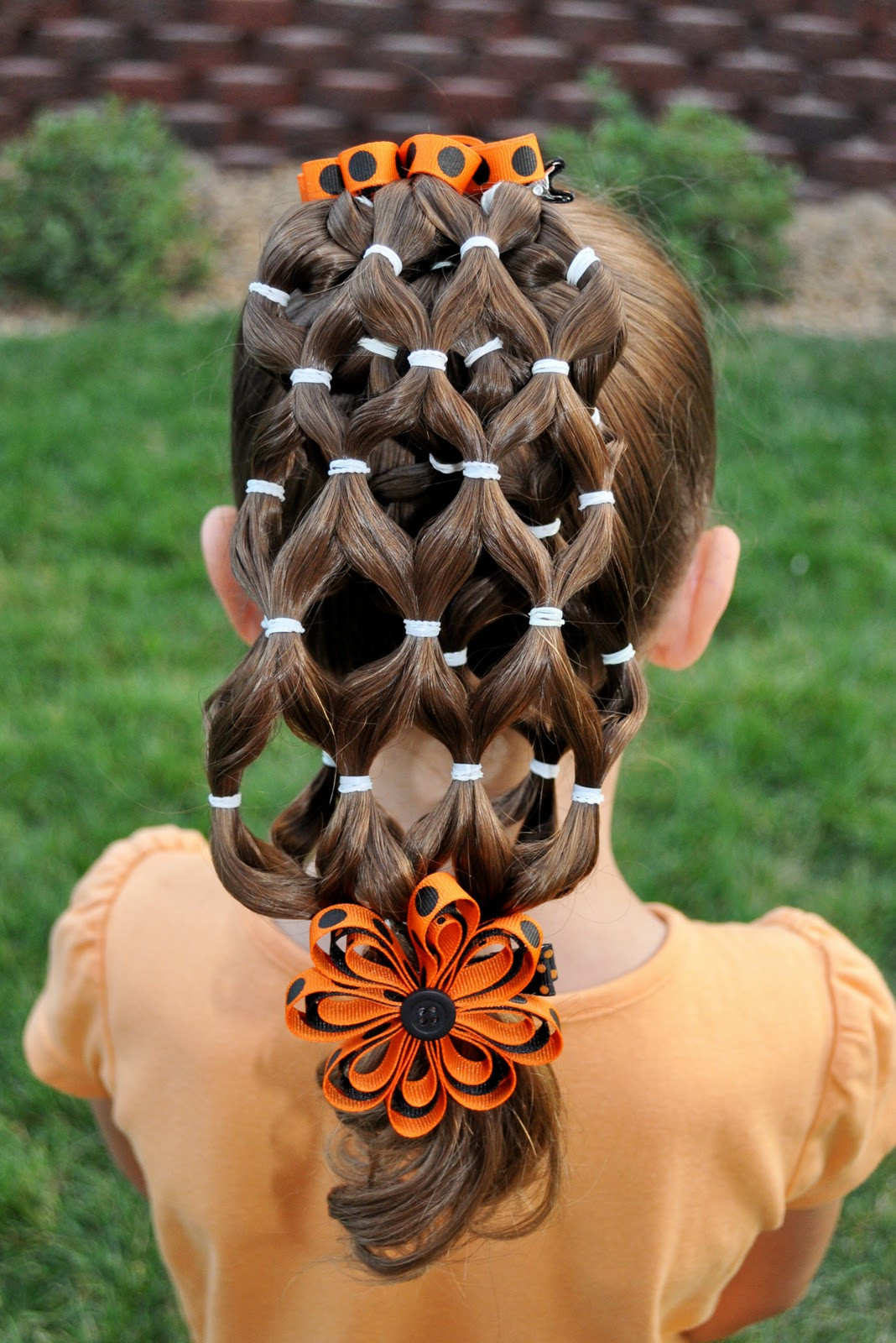 Best ideas about Halloween Hairstyles . Save or Pin Princess Piggies Halloween Hairdos The Haunted House Now.