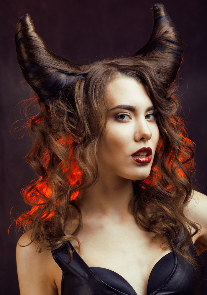 Best ideas about Halloween Hairstyles . Save or Pin Lionesse Flat Iron Now.