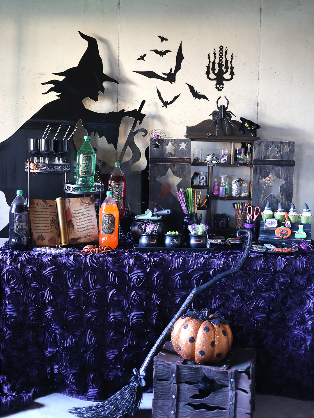 Best ideas about Halloween Theme Birthday Party . Save or Pin Throw a Crafty Witch Themed Halloween Party Now.