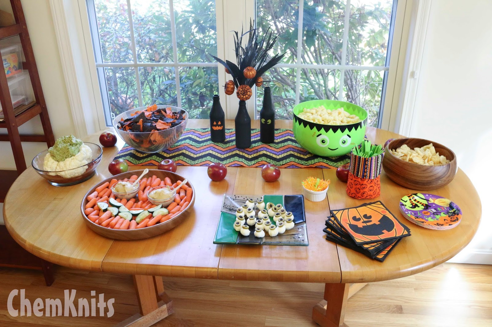 Best ideas about Halloween Theme Birthday Party . Save or Pin ChemKnits Lucky s Halloween Birthday Party Now.