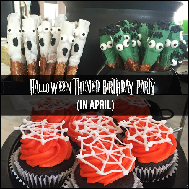 Best ideas about Halloween Theme Birthday Party . Save or Pin Halloween Themed Birthday Party in April Now.