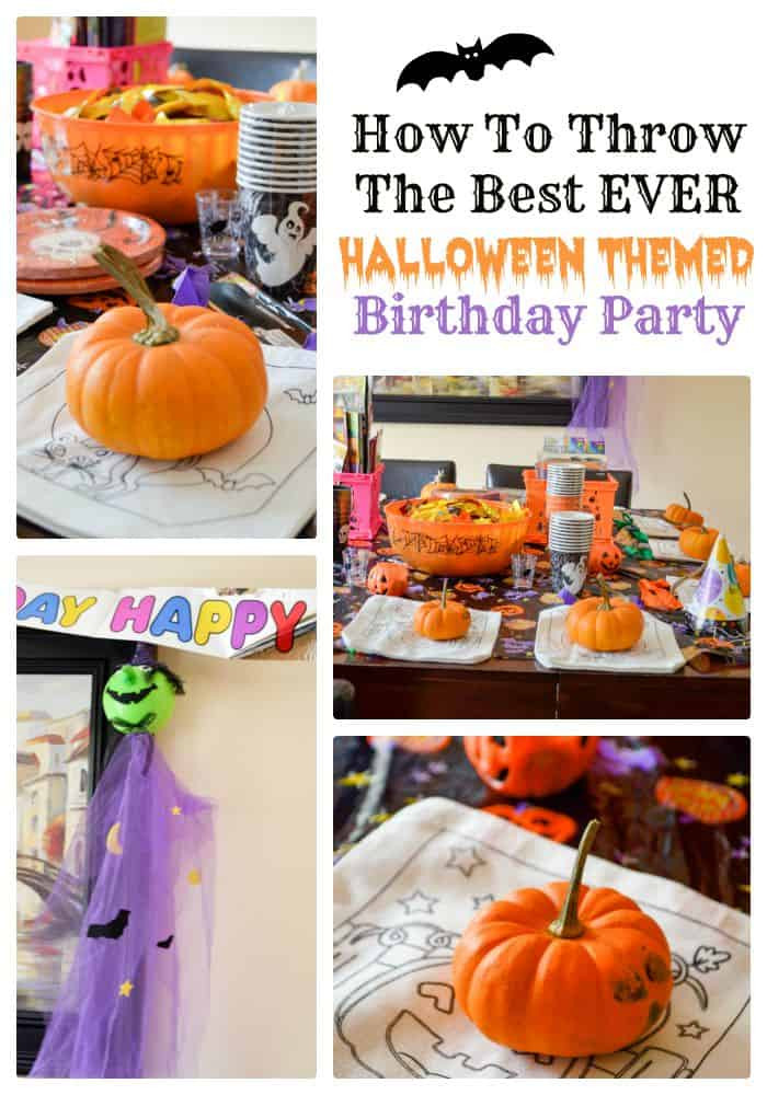 Best ideas about Halloween Theme Birthday Party . Save or Pin How To Throw The Best EVER Halloween Themed Birthday Party Now.