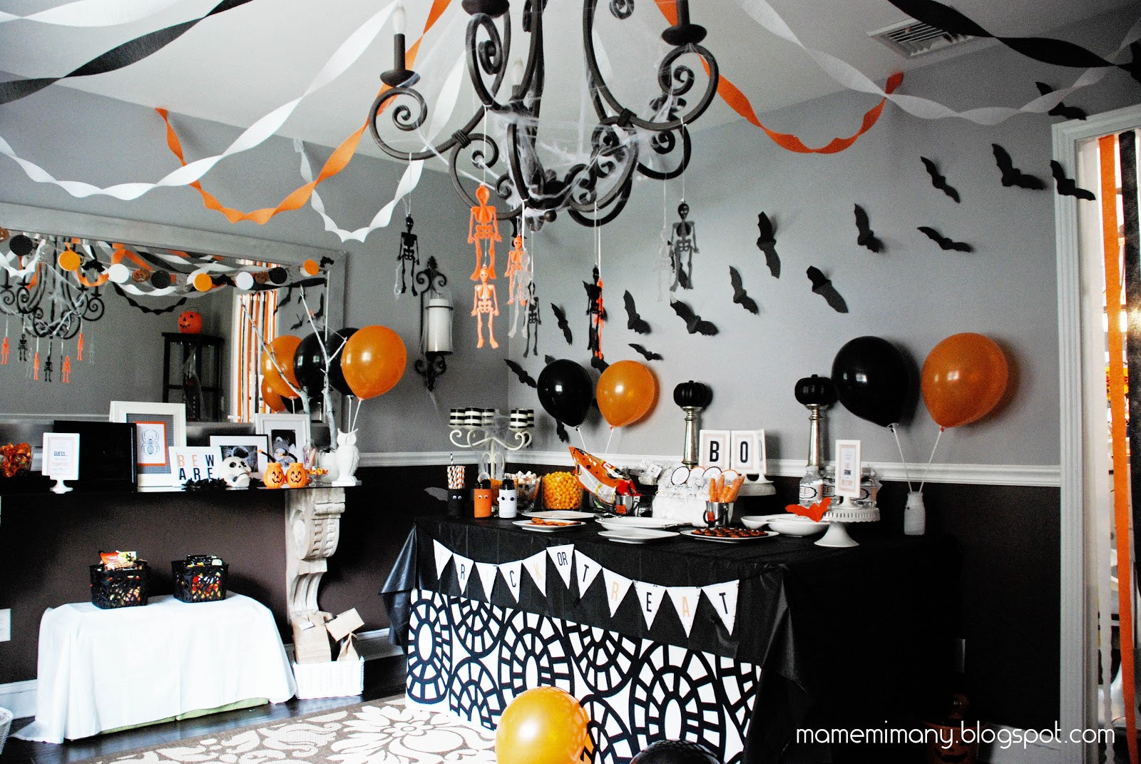 Best ideas about Halloween Theme Birthday Party . Save or Pin MaMeMima real party a halloween party Now.