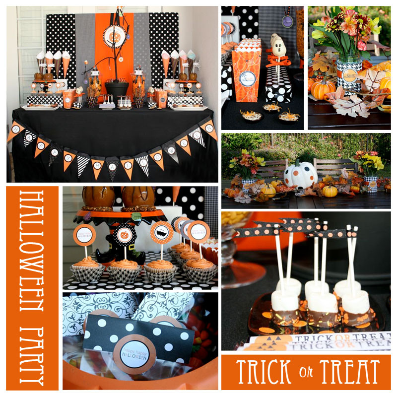 Best ideas about Halloween Theme Birthday Party . Save or Pin Valentine e Halloween Party Ideas Now.