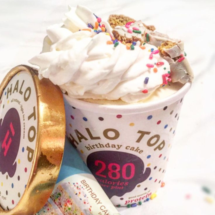 Best ideas about Halo Top Birthday Cake . Save or Pin 133 best Scoop It Uppp images on Pinterest Now.