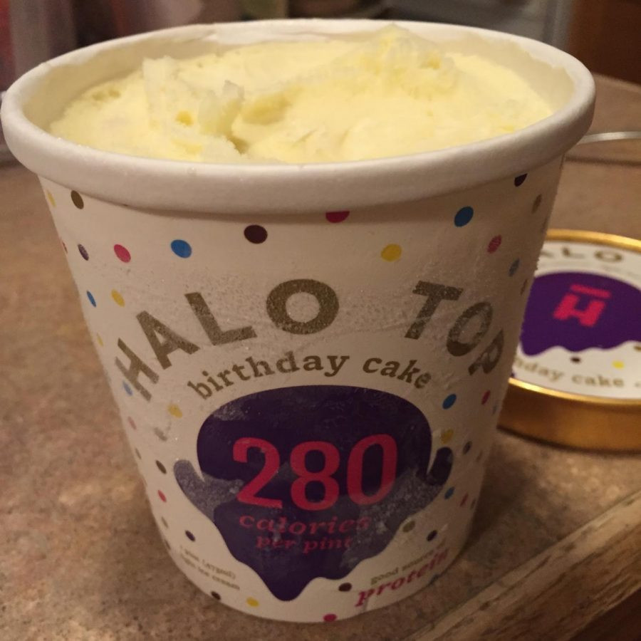 Best ideas about Halo Top Birthday Cake . Save or Pin Halo Top Birthday Cake Ice Cream Canyon Echoes Now.