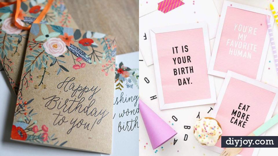 Best ideas about Handmade Birthday Card Ideas . Save or Pin 30 Handmade Birthday Card Ideas Now.