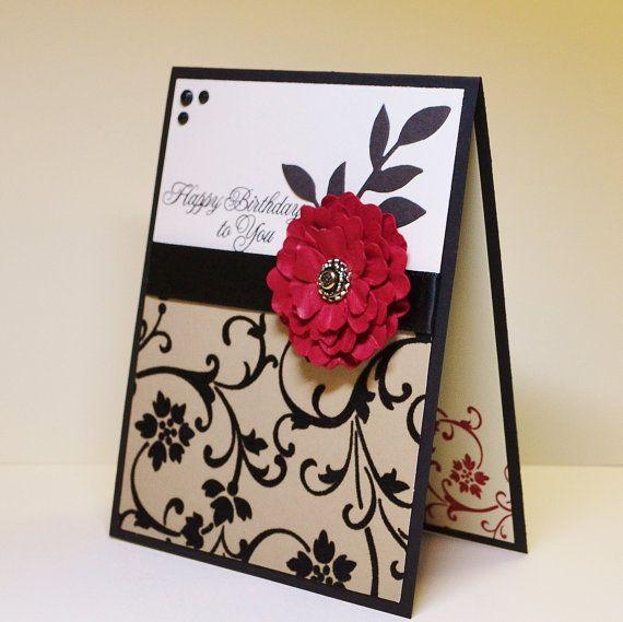 Best ideas about Handmade Birthday Card Ideas . Save or Pin Birthday Card Ideas Card Making World Now.