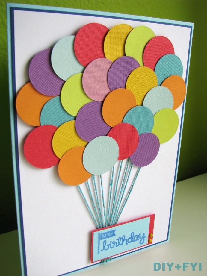 Best ideas about Handmade Birthday Card Ideas . Save or Pin handmade cards diy fyi Now.