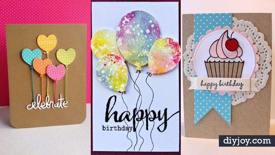 Best ideas about Handmade Birthday Card Ideas . Save or Pin 30 Creative Ideas for Handmade Birthday Cards Now.