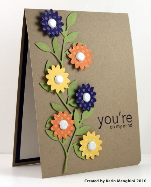 Best ideas about Handmade Birthday Card Ideas . Save or Pin 30 Great Ideas for handmade Cards Now.