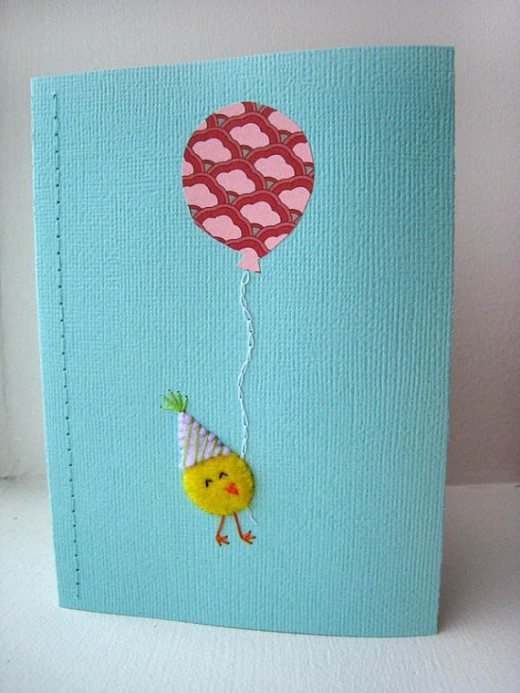 Best ideas about Handmade Birthday Card Ideas . Save or Pin Homemade Handmade Greeting Card Making Ideas with Balloons Now.