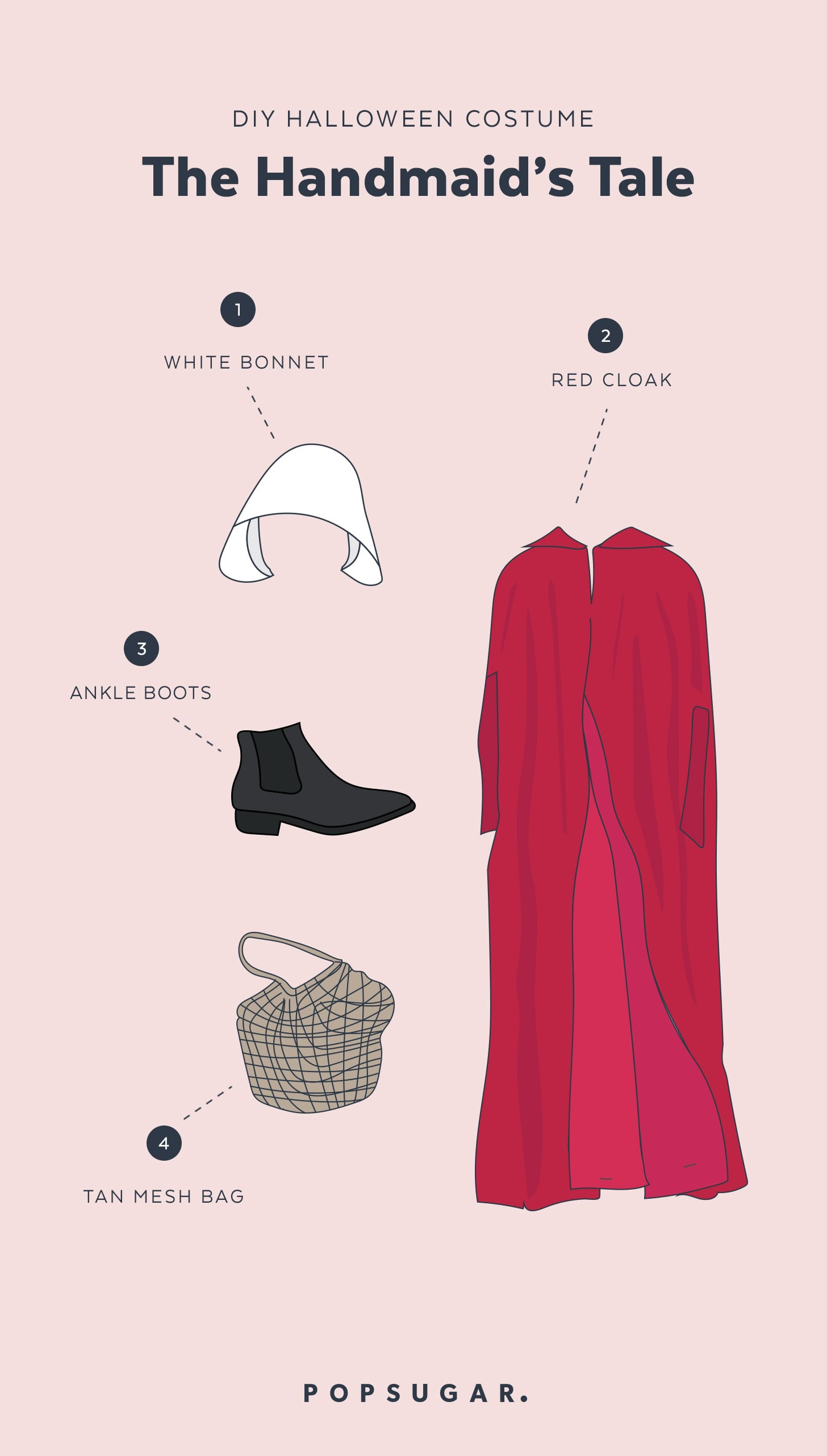 Best ideas about Handmaid'S Tale Costume DIY . Save or Pin Handmaid s Tale Halloween Costume Now.