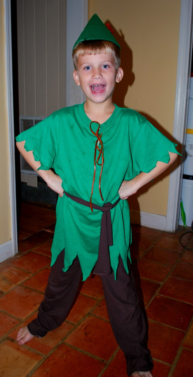 Best ideas about Handmaid'S Tale Costume DIY . Save or Pin Easy Peter Pan Costume Now.