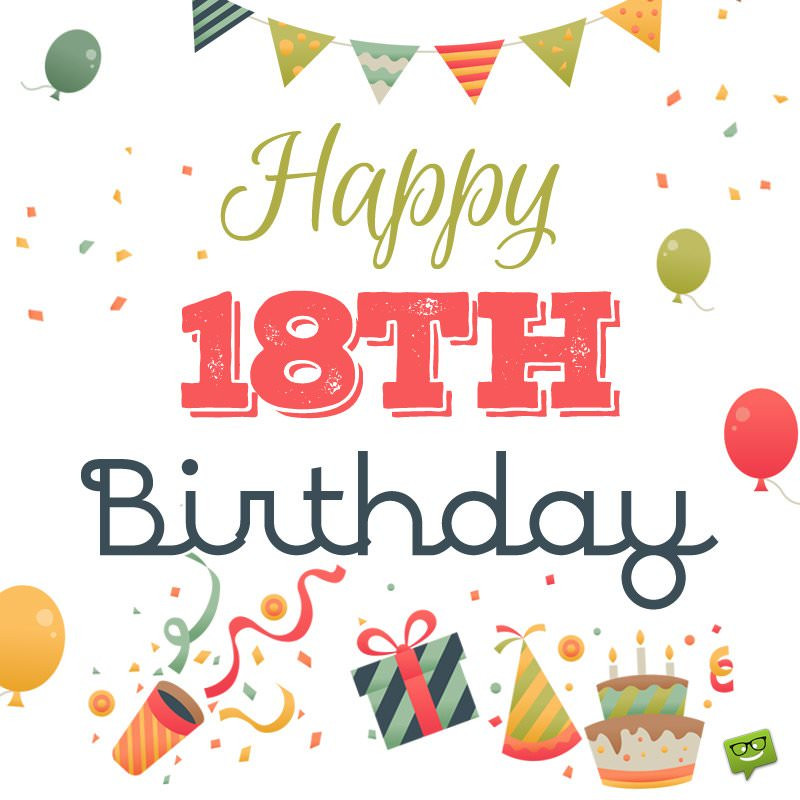 Best ideas about Happy 18th Birthday Wishes . Save or Pin 18th Birthday Wishes Now.