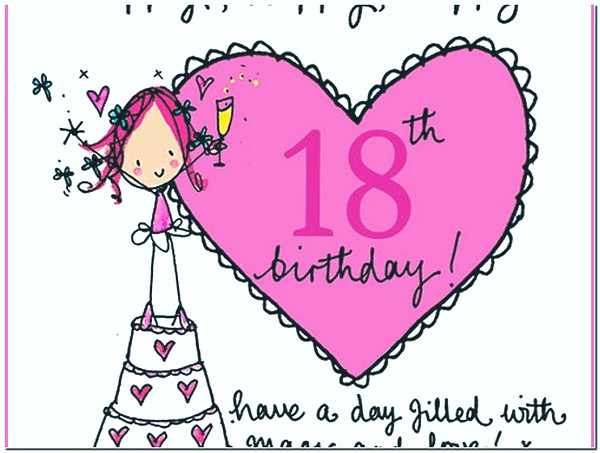 Best ideas about Happy 18th Birthday Wishes . Save or Pin Sweet Happy 18th Birthday Wishes Now.