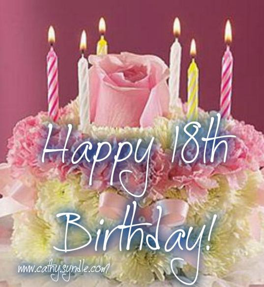 Best ideas about Happy 18th Birthday Wishes . Save or Pin 18th Birthday Quotes Cathy Now.