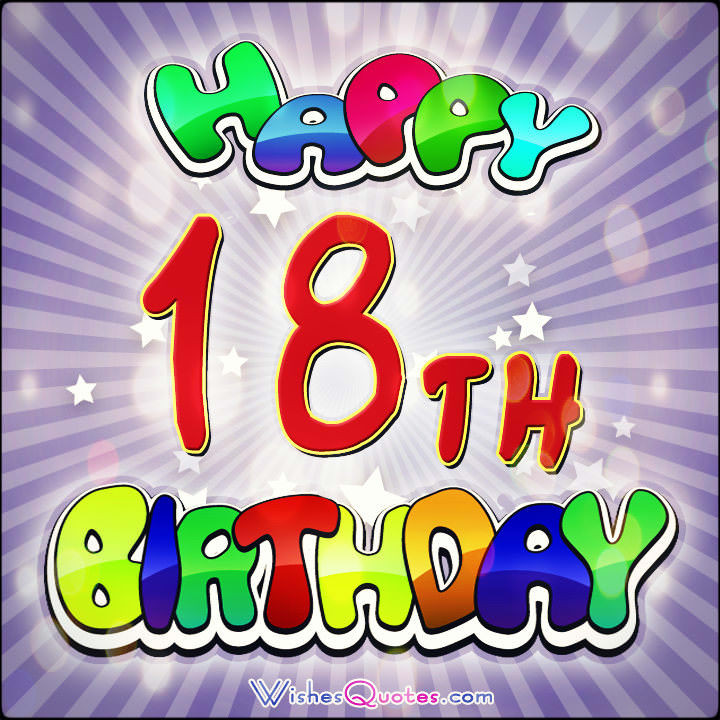 Best ideas about Happy 18th Birthday Wishes . Save or Pin 18th Birthday Wishes Amazing Birthday Messages for 18 Now.