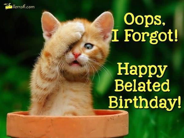 Best ideas about Happy Belated Birthday Funny . Save or Pin Happy Birthday Meme & Hilarious Funny Happy Bday Now.