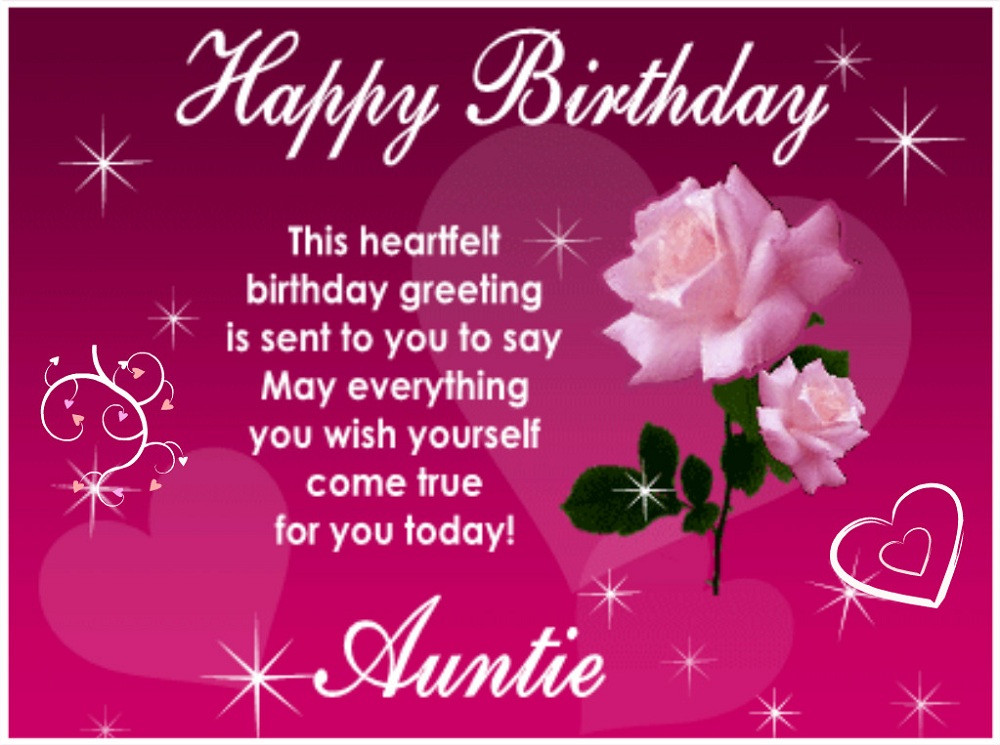 Best ideas about Happy Birthday Aunt Quotes . Save or Pin 100 Inspirational Birthday Message For Aunt In English Now.