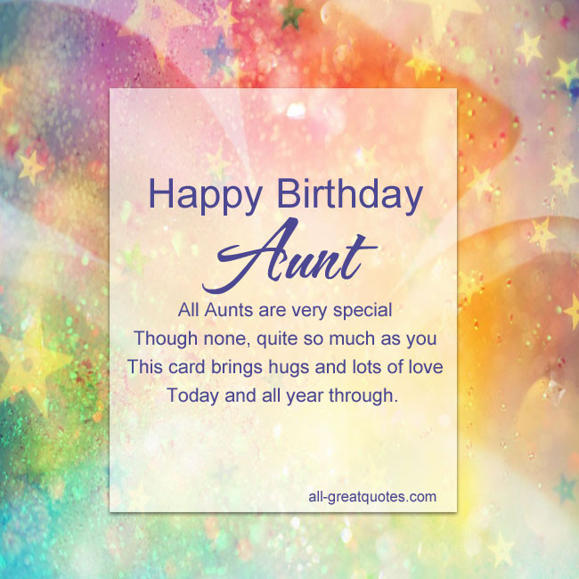 Best ideas about Happy Birthday Aunt Quotes . Save or Pin Happy Birthday Aunt Quotes QuotesGram Now.