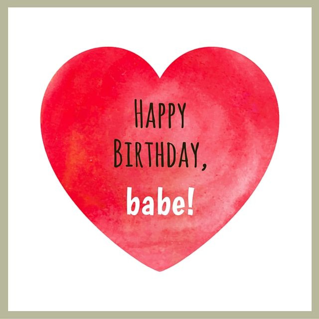 Best ideas about Happy Birthday Babe Quotes . Save or Pin Cute Little Thing Called Love ♥ Now.