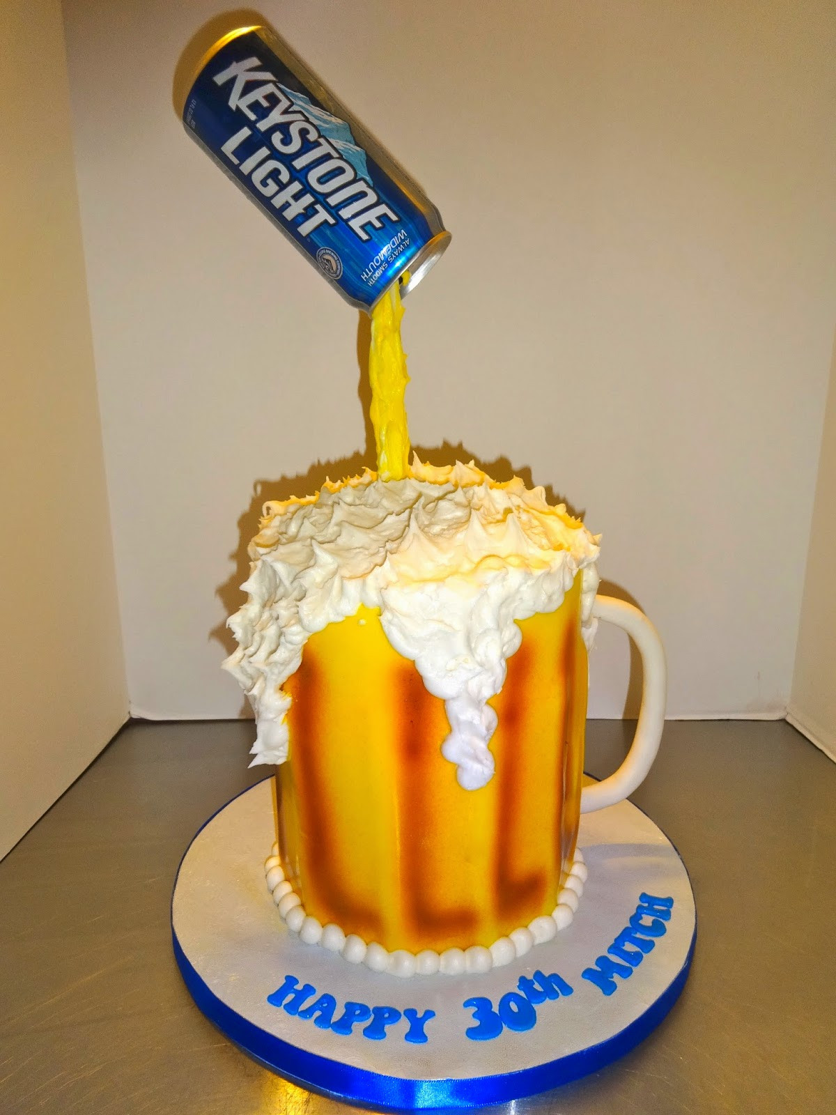 Best ideas about Happy Birthday Beer Cake . Save or Pin Cakes by Paula 30th Birthday Beer Mug Cake Now.