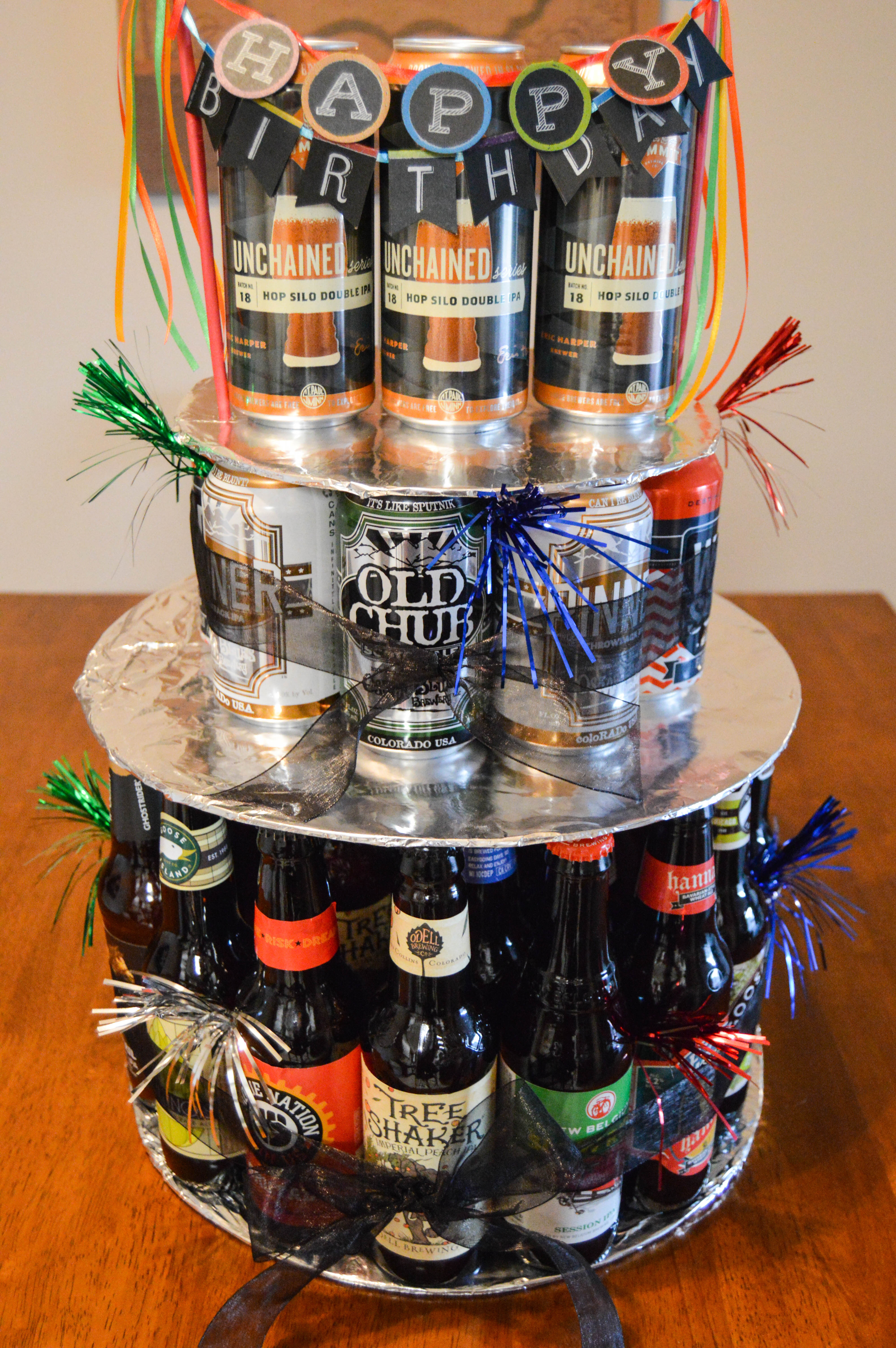 Best ideas about Happy Birthday Beer Cake . Save or Pin How to Make a Beer Bottle or Can Birthday Cake Now.