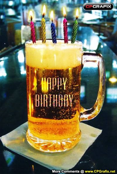 Best ideas about Happy Birthday Beer Cake . Save or Pin Happy Birthday Beer Candle cakepins Now.