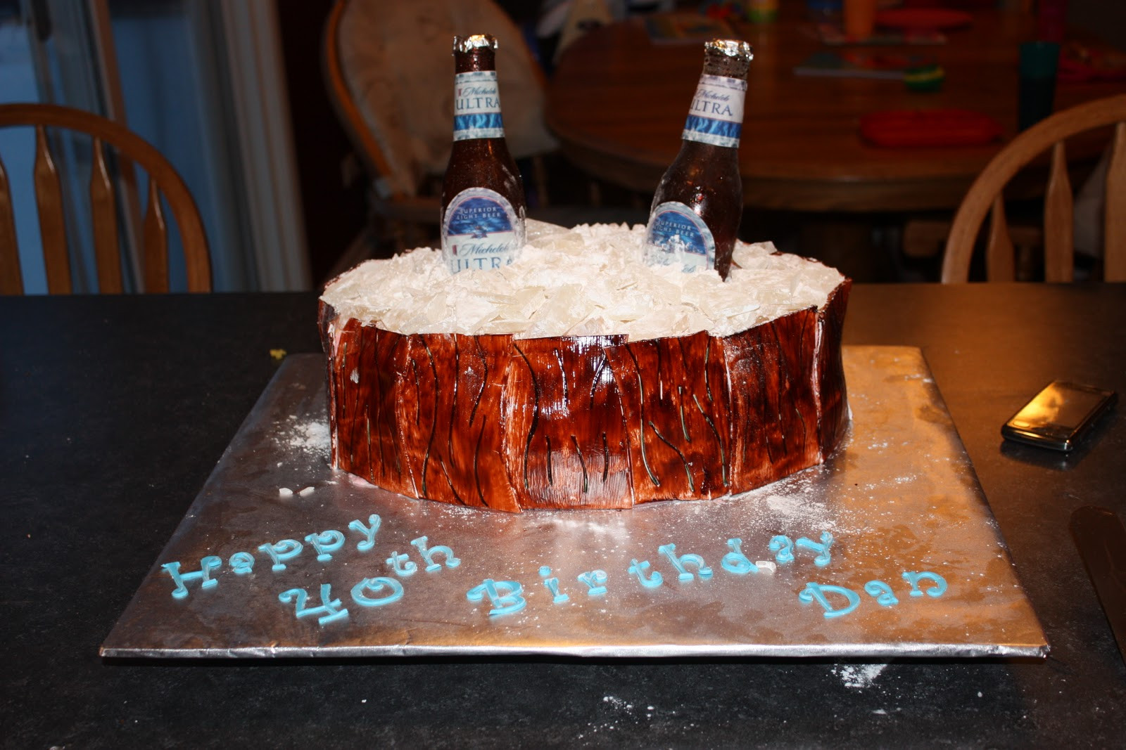 Best ideas about Happy Birthday Beer Cake . Save or Pin My Ava Cakes Beer Bucket Cake Happy 40th Birthday Dan Now.