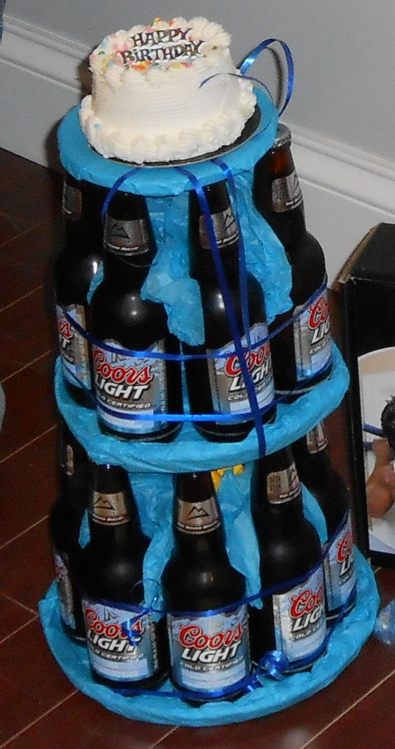 Best ideas about Happy Birthday Beer Cake . Save or Pin Beer cake Happy birthday diy Now.