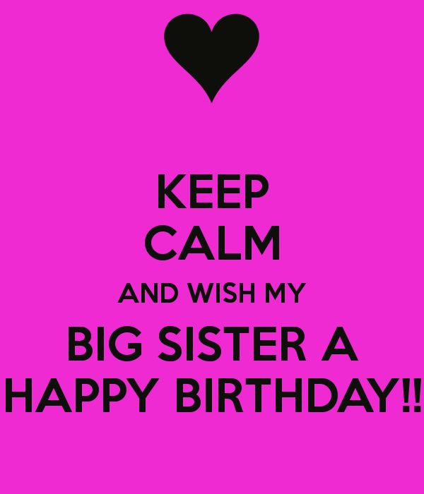 Best ideas about Happy Birthday Big Sister Quotes . Save or Pin 1000 images about Sister on Pinterest Now.