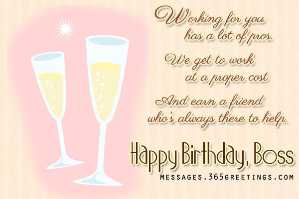 Best ideas about Happy Birthday Boss Quotes . Save or Pin Birthday Wishes For Boss 365greetings Now.