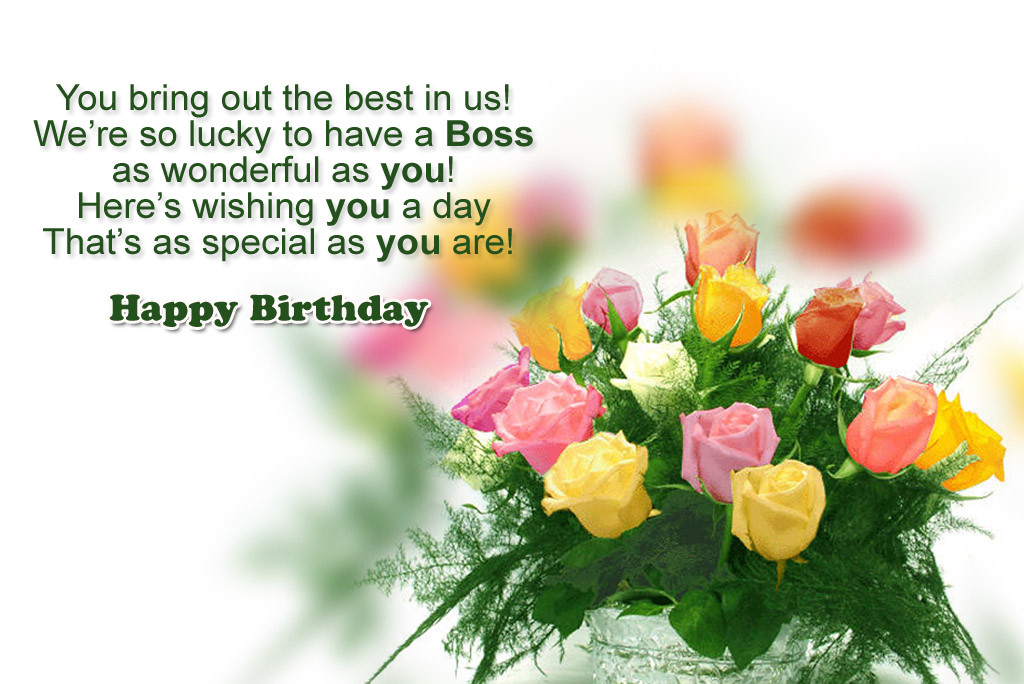Best ideas about Happy Birthday Boss Quotes . Save or Pin Birthday Wishes For Boss Now.